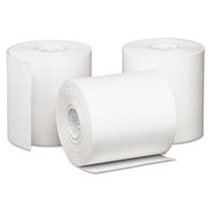 "Iconex™ Impact Bond Paper Rolls, 3"" x 85 ft, White, 50/Carton"