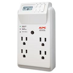 APC® SurgeArrest Surge Protector, 4 Outlets, 1020 Joules, White