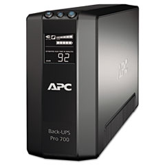 BR700G Back-UPS Pro 700 Battery Backup System, 6 Outlets, 700 VA, 355 J