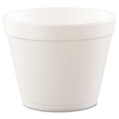 Dart® Foam Containers, 24 oz, White, 25/Bag, 20 Bags/Carton