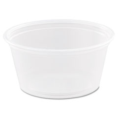 Dart® Conex Complements Polypropylene Portion/Medicine Cups, 2 oz, Clear, 125/Bag, 20 Bags/Carton