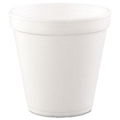 Dart® Foam Containers, 16 oz, White, 25/Bag, 20 Bags/Carton