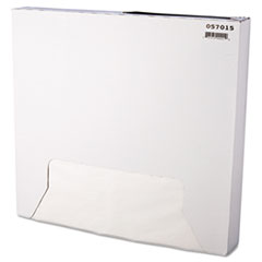 Grease-Resistant Paper Wrap/Liner, 15 x 16, White, 1000/Box, 3 Boxes/Carton