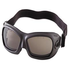 Jackson Safety* V80 WildCat Safety Goggles, Black Frame, Smoke Lens