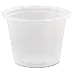 Dart® Conex Complements Ploypropylene Portion/Medicine Cups, 1 oz, Clear, 125/Bag, 20 Bags/Carton