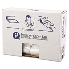 "High-Density Commercial Can Liners Value Pack, 16 gal, 7 microns, 24"" x 31 "", Clear, 1,000/Carton"