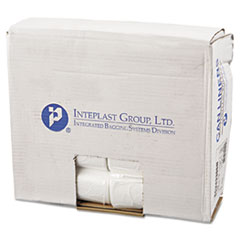 "Inteplast Group High-Density Commercial Can Liners, 16 gal, 6 microns, 24"" x 33"", Natural, 1,000/Carton"