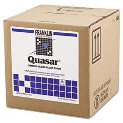 Franklin Cleaning Technology® Quasar High Solids Floor Finish, 5 gal Box