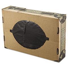 "FlexSol Low Density Economy Ecosac, 60 gal, 1.54 mil, 38"" x 60"", Black, 100/Carton"