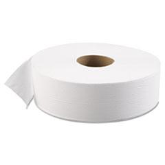 "Boardwalk® JRT Bath Tissue, Jumbo, Septic Safe, 1-Ply, White, 3 5/8"" x 4000 ft, 6/Carton"