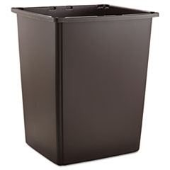 Rubbermaid® Commercial Glutton Container, Rectangular, 56 gal, Brown