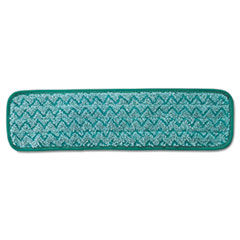Rubbermaid® Commercial Microfiber Dust Pad, 18.5 x 5.5, Green