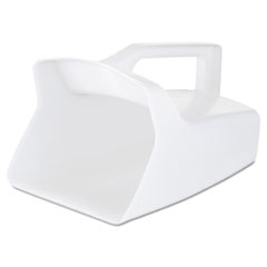 Rubbermaid® Commercial Bouncer Bar/Utility Scoop, 64oz, White