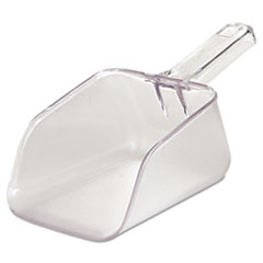 Rubbermaid® Commercial Bouncer Bar/Utility Scoop, 32oz, Clear