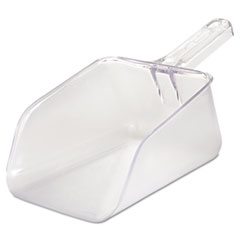 Rubbermaid® Commercial Bouncer Bar/Utility Scoop, 64oz, Clear