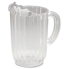 Rubbermaid® Commercial Bouncer Plastic Pitcher, 32oz, Clear