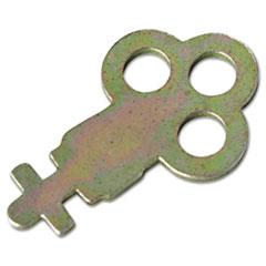 San Jamar® Key for Metal Toilet Tissue Dispensers: T800, T1905, T1900, T1950, T1800, R1500