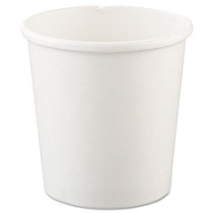 Dart® Flexstyle Double Poly Paper Containers, 16oz, White, 25/Pack, 20 Packs/Carton
