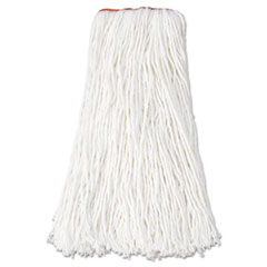 Rubbermaid® Commercial Non-Launderable Premium Cut-End Rayon Mop Heads