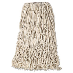 Rubbermaid® Commercial Non-Launderable Premium Cut-End Cotton Wet Mop Heads