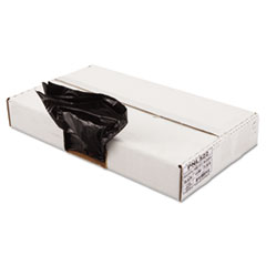 "Penny Lane Linear Low Density Can Liners, 56 gal, 1.6 mil, 43"" x 47"", Black, 100/Carton"