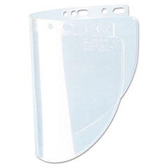 Fibre-Metal® by Honeywell High Performance Face Shield Window, Wide Vision, Propionate, Clear