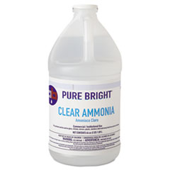 Pure Bright® Clear Ammonia, 64oz Bottle, 8/Carton
