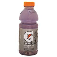 Gatorade® Wide Mouth Bottle Drink, Riptide Rush, 20oz Bottle, 24/Carton
