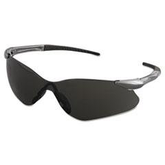 KleenGuard™ V30 Nemesis VL Safety Glasses, Gun Metal Frame, Smoke Lens