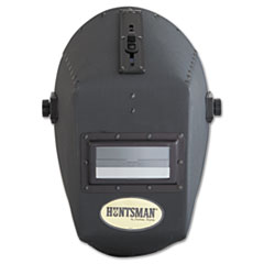 "Jackson Safety* HUNTSMAN Fiber Shell Welding Helmet, 4 1/4"" x 2"", Black"