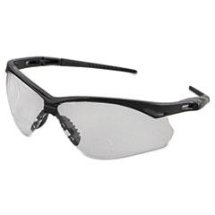 Jackson Safety* V60 Nemesis Rx Reader Safety Glasses, Black Frame, Clear Lens