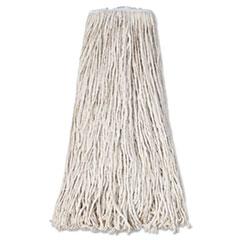 Boardwalk® Mop Head, Premium Standard Head, Cotton Fiber, 32oz, White, 12/Carton BWK232C