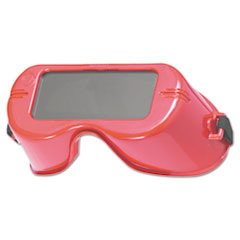 WR-60 Cutting Goggles, Red Frame, Shade 5.0 Lens