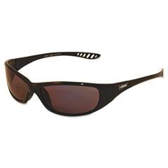 Jackson Safety* V40 HellRaiser Safety Glasses, Black Frame, Light Blue