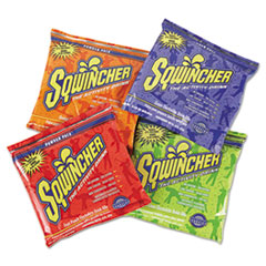 Sqwincher® Powder Pack Concentrated Activity Drink, Assorted, 23.83 oz Packet, 32/Carton