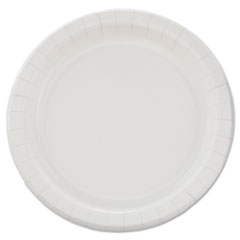 "Dart® Bare Eco-Forward Clay-Coated Paper Dinnerware, Plate, 8 1/2"" dia, 500/Carton"