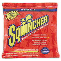 Powder Pack Concentrated Activity Drink, Fruit Punch, 23.83 oz Packet, 32/Carton