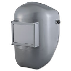 """Fibre-Metal® by Honeywell Tiger Classic Thermo Plastic Welding Helmet, 4 1/2"""" x 5 1/4"""" Wide Vision, Gray"""