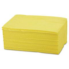 Chix® Masslinn Dust Cloths, 40 x 24, Yellow, 250/Carton