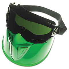 KleenGuard™ V90 Series Face Shield, Black Frame, Dark Green Lens, Anti-Fog