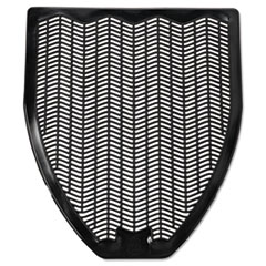 Fresh Products Disposable Urinal Floor Mat, Nonslip, Fresh Blast Scent, 17 1/2 x 20 3/8, Black, 6/Carton