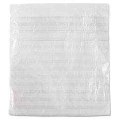 "Food Bags, 0.36 mil, 1"" x 6.75"", Clear, 2,000/Carton"