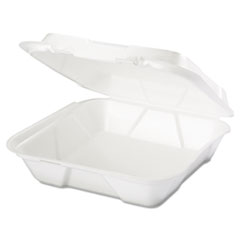 Genpak® Snap It™ Hinged-Lid Foam Food Container