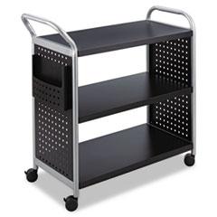 Safco® Scoot™ Three Shelf Utility Cart Thumbnail