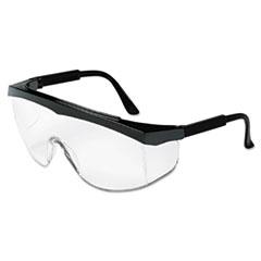 MCR™ Safety Blackjack Protective Eyewear, Chrome/Clear