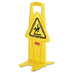 Rubbermaid® Commercial Stable Multi-Lingual Safety Sign Thumbnail