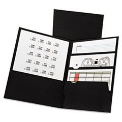 Oxford™ Divide It Up™ Four-Pocket Paper Folders Thumbnail