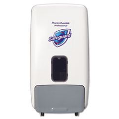 Safeguard™ Professional Foam Hand Soap Dispenser, 1,200 mL, White/Gray