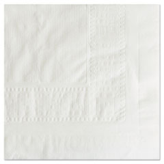 "Hoffmaster® Cellutex Tablecover, Tissue/Poly Lined, 54 in x 108"", White, 25/Carton"