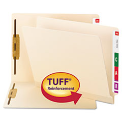 Smead® TUFF® Laminated Fastener Folders with Reinforced Tab Thumbnail